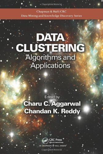 Data clustering book image